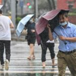 Typhoon In-fa hits China's east coast